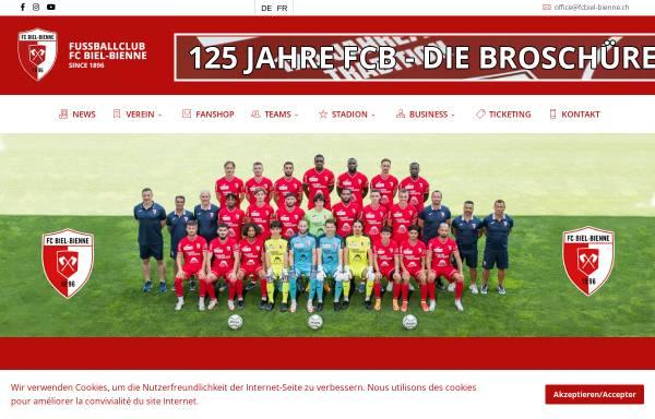 Vorschau von www.fcbiel-bienne.ch, FC Biel/Bienne