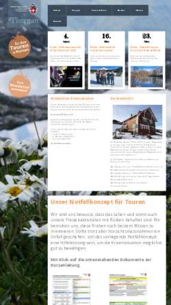 Vorschau der mobilen Webseite www.sac-tg.ch, SAC Sektion Thurgau