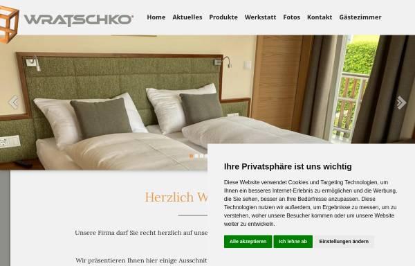 Vorschau von www.tischlerei-wratschko.com, Tischlerei Markus Wratschko