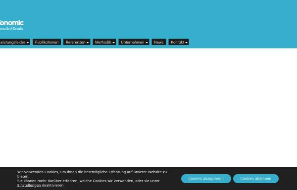 Vorschau von www.conomic.de, Conomic Marketing & Strategy Consultants
