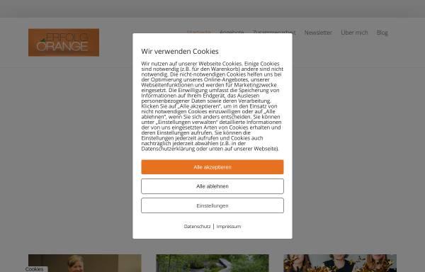 Vorschau von www.erfolgorange.de, Erfolg Orange