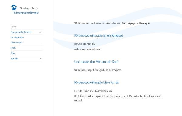 Vorschau von www.therapie-mros.de, Therapie Mros