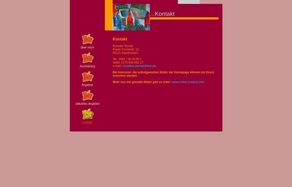 Vorschau von www.roswitha-thonet.de, Thonet, Roswitha