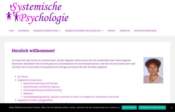 Vorschau von sypsy-christiane-berg.de, Christiane Berg