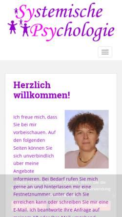 Vorschau der mobilen Webseite sypsy-christiane-berg.de, Christiane Berg