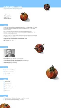 Vorschau der mobilen Webseite www.brennermargareta.ch, Margareta Brenner, Systemische Therapeutin ISA
