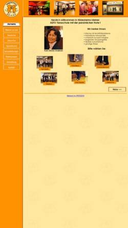 Vorschau der mobilen Webseite tanzschule-deicke.de, Tanzschule Deicke in Hildesheim