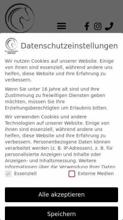 Vorschau der mobilen Webseite www.rufnortrup.de, Reit- und Fahrverein Nortrup e.V.