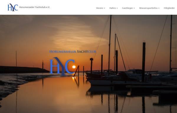 Vorschau von www.hyc-online.de, Horumersieler Yachtclub e.V.