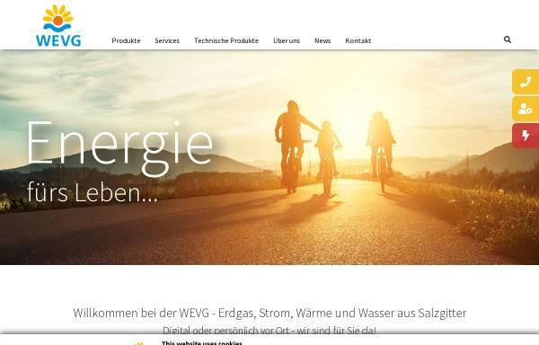 Vorschau von www.wevg.com, WEVG Wasser- und Energieversorgungsgesellschaft mbH Salzgitter