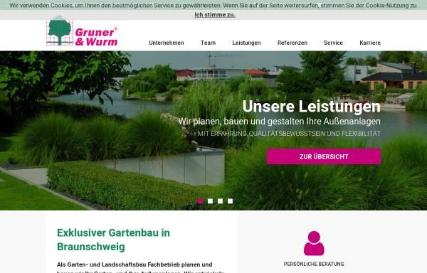 Vorschau von www.gruner-wurm.de, Gruner & Wurm GmbH & Co. KG