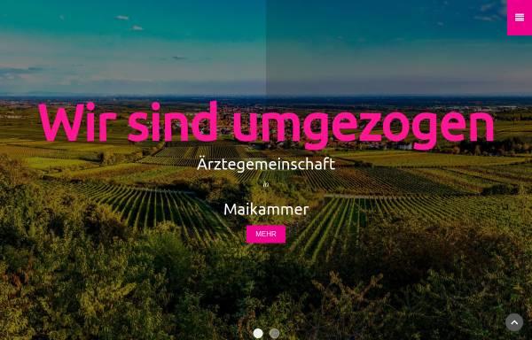 Vorschau von www.mai-med.de, Ärztegemeinschaft in Maikammer