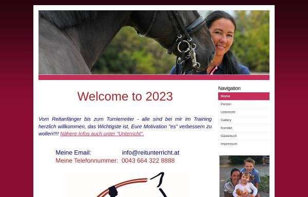 Vorschau von www.reitunterricht.at, Team Brandner, Weikersdorf/Steinfeld