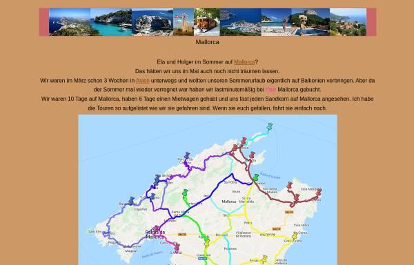Vorschau von www.arizonas-world.de, Mietwagentouren auf Mallorca [Holger Quast]