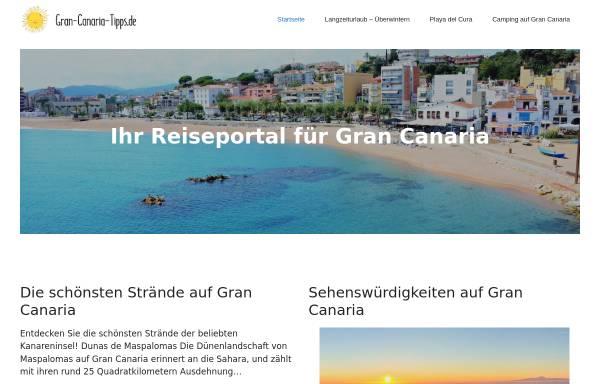 Vorschau von www.gran-canaria-tipps.de, Gran Canaria Tipps