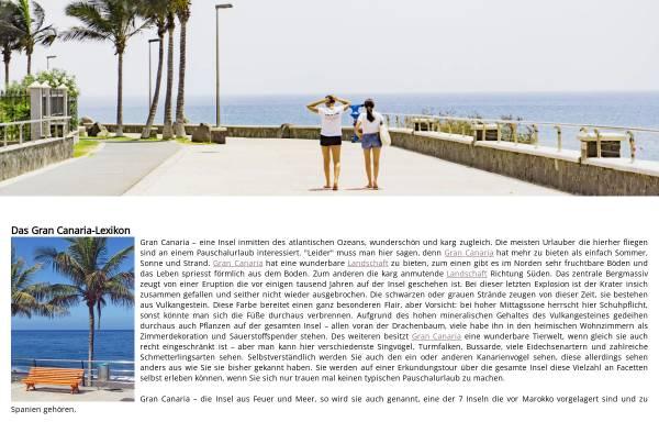 Vorschau von www.gran-canaria-lexikon.de, Gran Canaria Lexikon