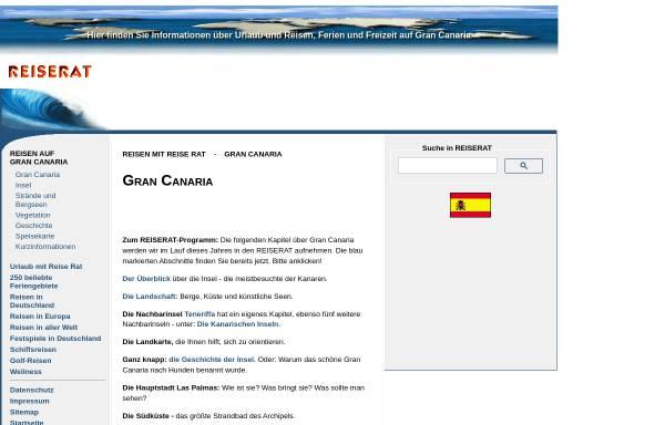 Vorschau von www.reiserat.de, Reiserat