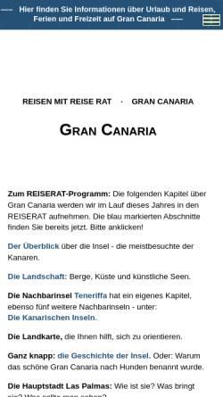 Vorschau der mobilen Webseite www.reiserat.de, Reiserat