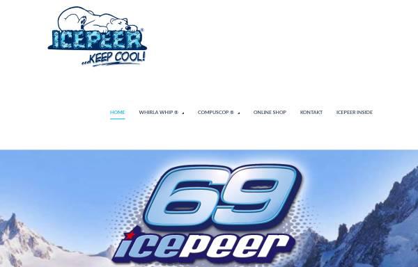 Vorschau von www.icepeer.com, Icepeer S.C.P.