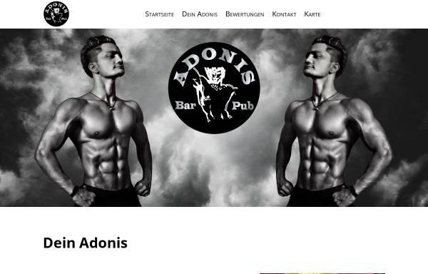 Vorschau von adonisworld.de, Adonis