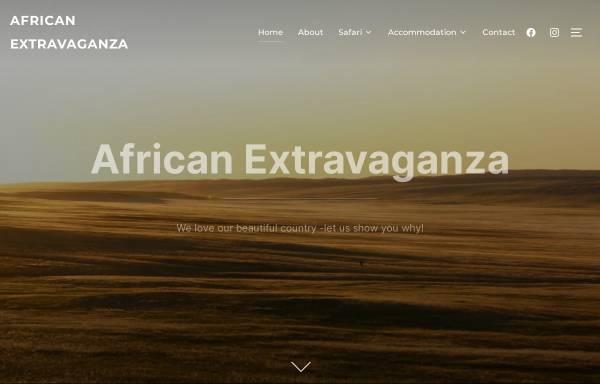 Vorschau von www.african-extravaganza.com, African Extravaganza