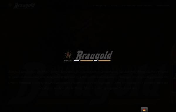 Vorschau von www.braugold.de, Braugold Brauerei Riebeck GmbH & Co. KG