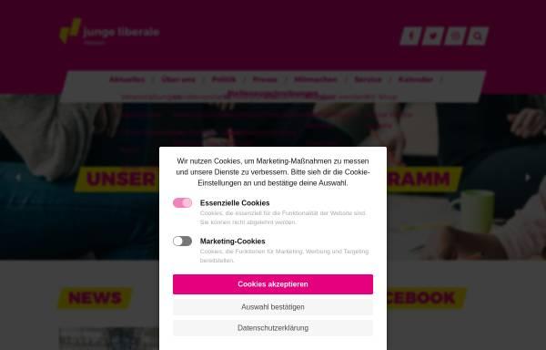 Vorschau von www.junge-liberale.de, JuLis - Junge Liberale Hessen