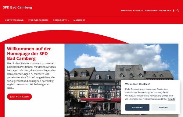 Vorschau von www.spd-bad-camberg.de, SPD-Ortsverein Bad Camberg