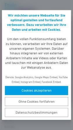 Vorschau der mobilen Webseite www.fdp-planungsverband.de, FDP-Gruppe im Planungsverband