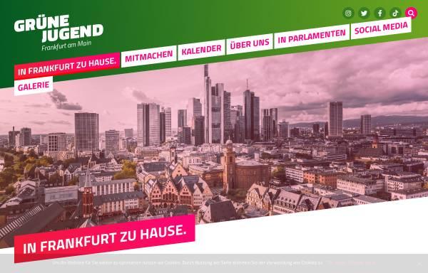 Vorschau von www.gruene-jugend-frankfurt.de, Grüne Jugend Frankfurt