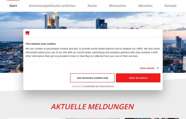 Vorschau von www.spd-frankfurt.de, SPD Frankfurt am Main