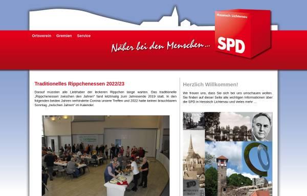 Vorschau von spd-heli.de, SPD-Stadtverband Hessisch Lichtenau