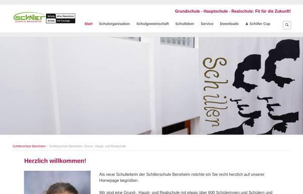 Vorschau von www.schillerschule-bensheim.de, Schillerschule