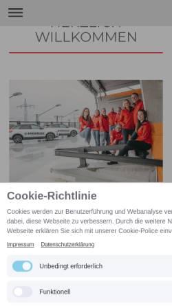 Vorschau der mobilen Webseite www.lottermann.org, Fahrschule Lottermann