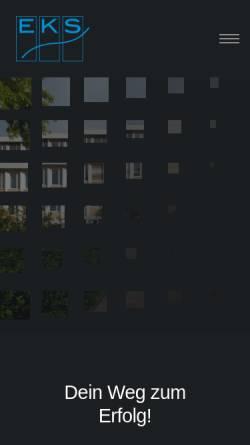 Vorschau der mobilen Webseite www.erasmus-kittler-schule.de, Erasmus-Kittler-Schule