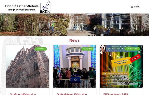 Vorschau von www.eks-igs.de, Erich Kästner-Schule