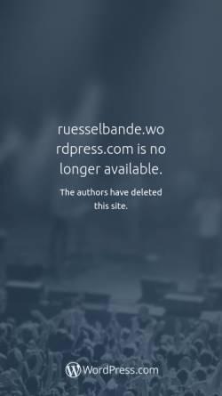 Vorschau der mobilen Webseite ruesselbande.wordpress.com, Förderverein Rüsselbande e.V.