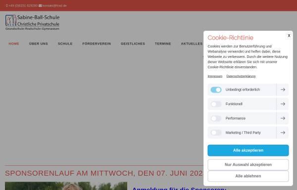 Vorschau von www.fcsd.de, Freie Christliche Schule Darmstadt
