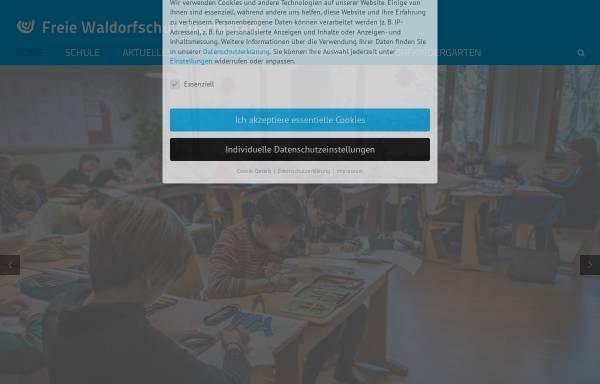 Vorschau von www.waldorfschule-darmstadt.de, Freie Waldorfschule Darmstadt