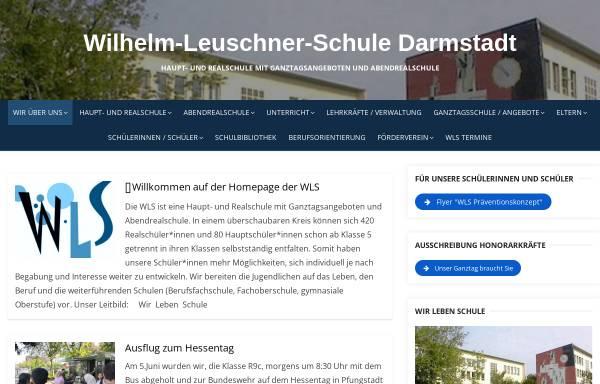 Vorschau von www.wlsda.de, Wilhelm Leuschner Schule Darmstadt