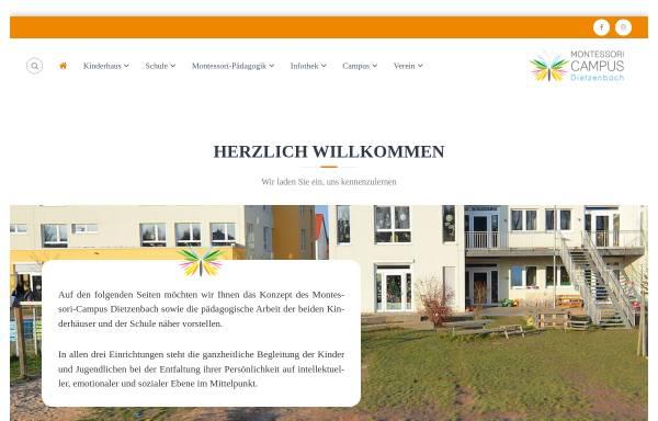 Vorschau von www.montessori-dietzenbach.de, Freie Montessori-Schule Dietzenbach