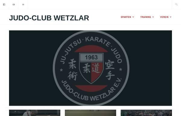Vorschau von www.judo-club-wetzlar.de, Judo Club Wetzlar 1963 eV