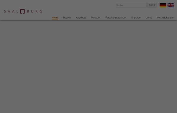Vorschau von www.saalburgmuseum.de, Römerkastell Saalburg