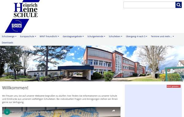Vorschau von www.heinrich-heine-schule.de, Heinrich-Heine-Schule
