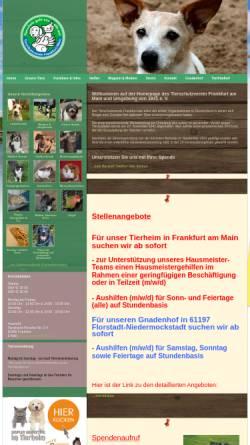 Vorschau der mobilen Webseite www.tsv-frankfurt.de, Tierschutzverein Frankfurt am Main