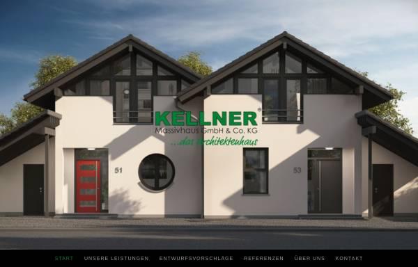 Vorschau von www.kellnerhaus.de, KELLNER Massivhaus GmbH & Co. KG