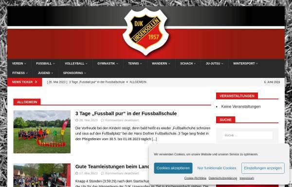 Vorschau von www.djk-ursensollen.de, DJK Ursensollen e.V.