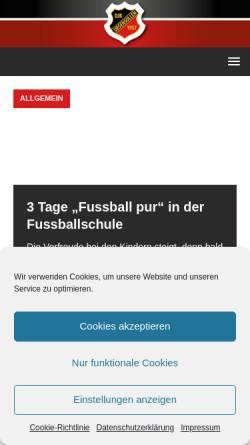 Vorschau der mobilen Webseite www.djk-ursensollen.de, DJK Ursensollen e.V.