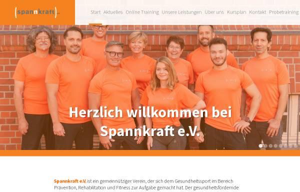 Vorschau von www.spannkraft-ev.de, Spannkraft e.V. - Gesundheitssport in Berlin Spandau