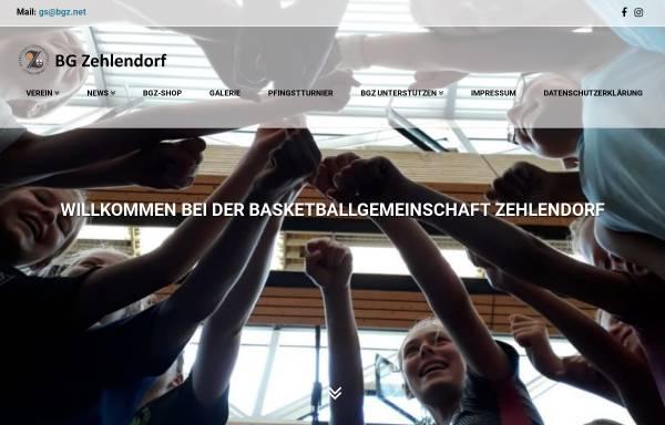 Vorschau von www.bgz.net, Basketball-Gemeinschaft Zehlendorf e.V.